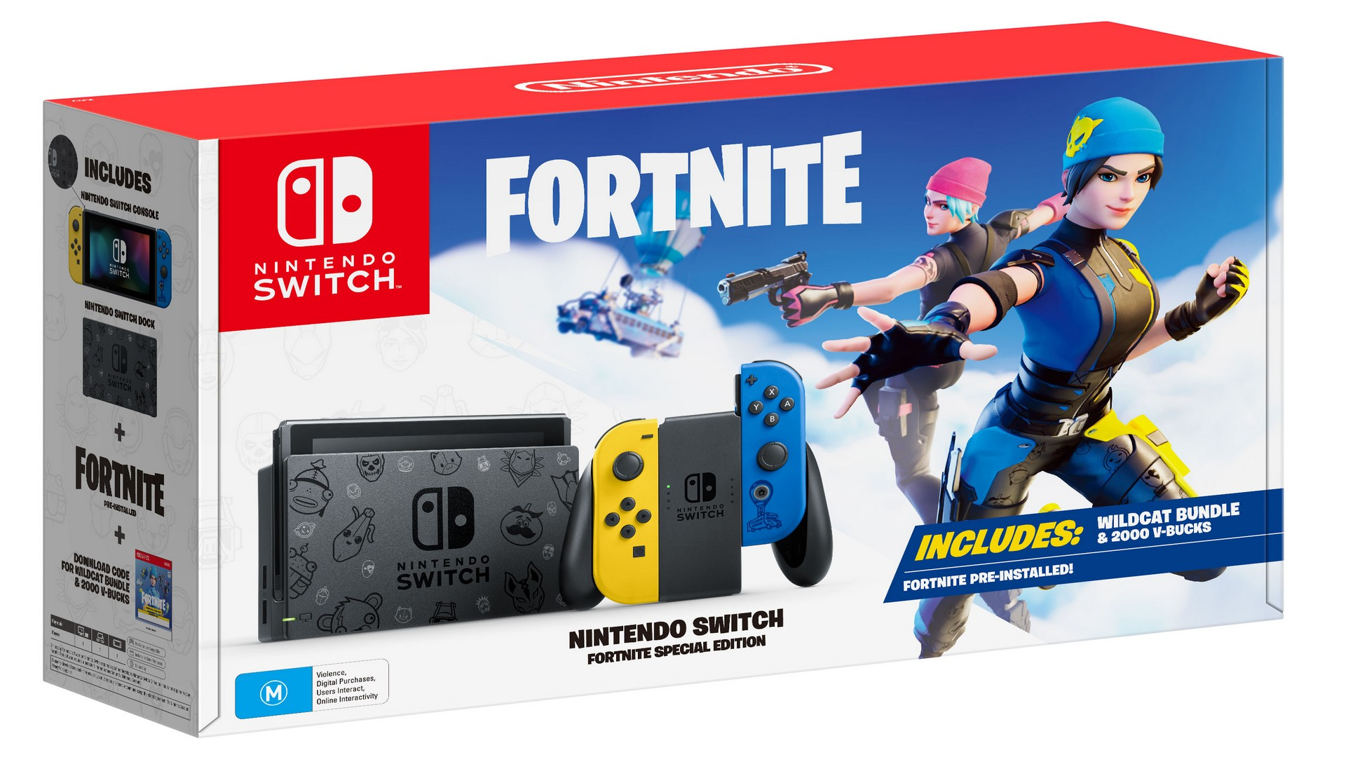 Nintendo Switch Fortnite Special Edition Console Bundle, Hitting Australia And New Zealand On 6th November