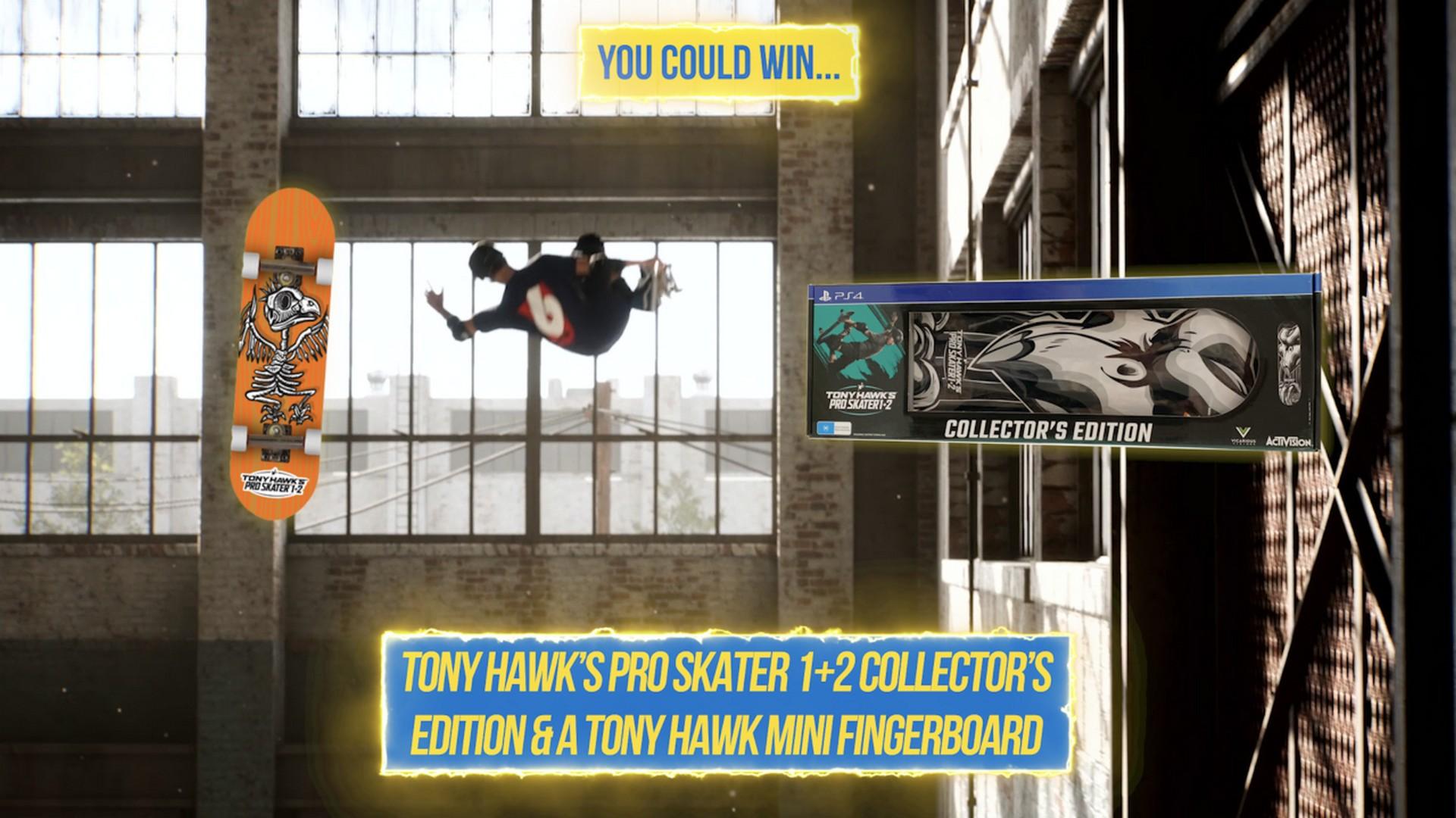PlayStation Australia Announces #PSPlusPlays Challenge For September With Tony Hawk's Pro Skater 1 + 2