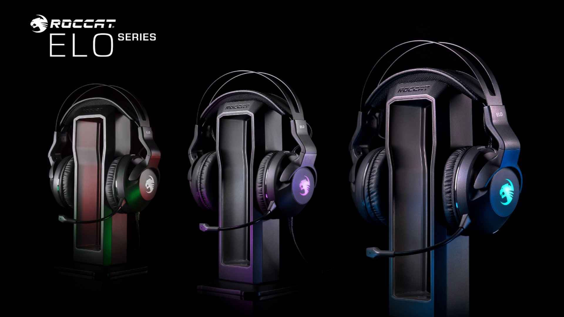 Roccat Reveals The Elo Series Of PC Gaming Headset