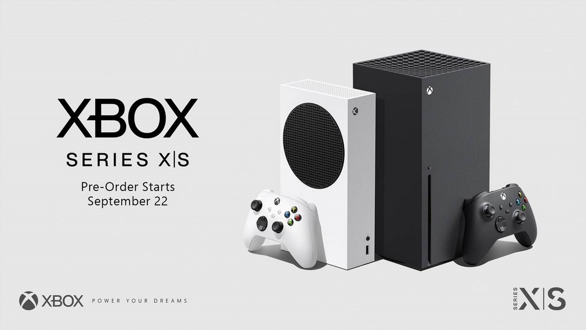 Pre-Order Xbox Series X and Series S Starting Tuesday, September 22