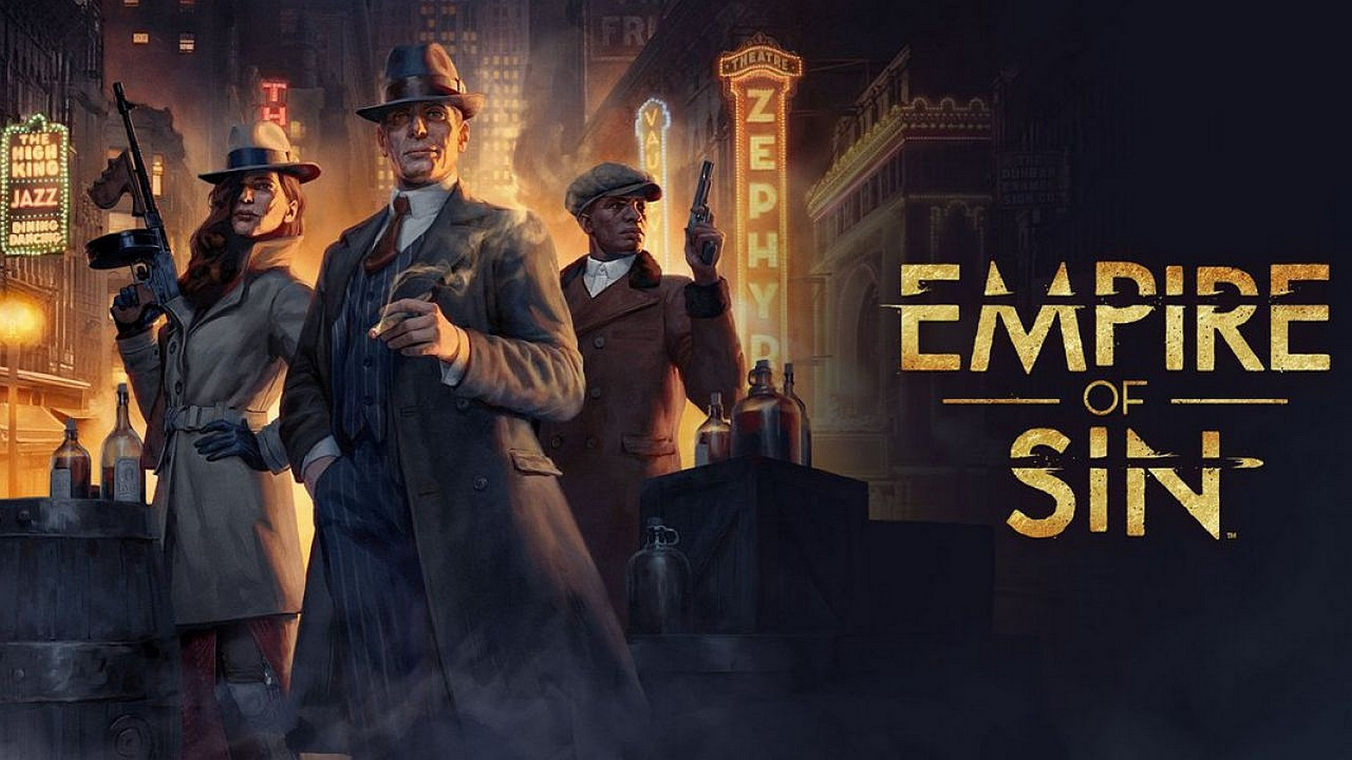 Paradox Interactive And Romero Games Empire Of Sin Is Now Available Worldwide Mkau Gaming