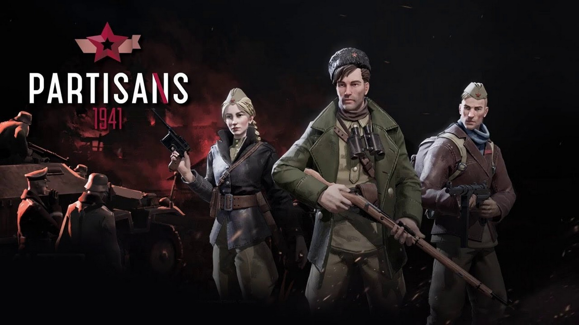 Real-Time Tactics Game Partisans 1941 Releases On Steam Today