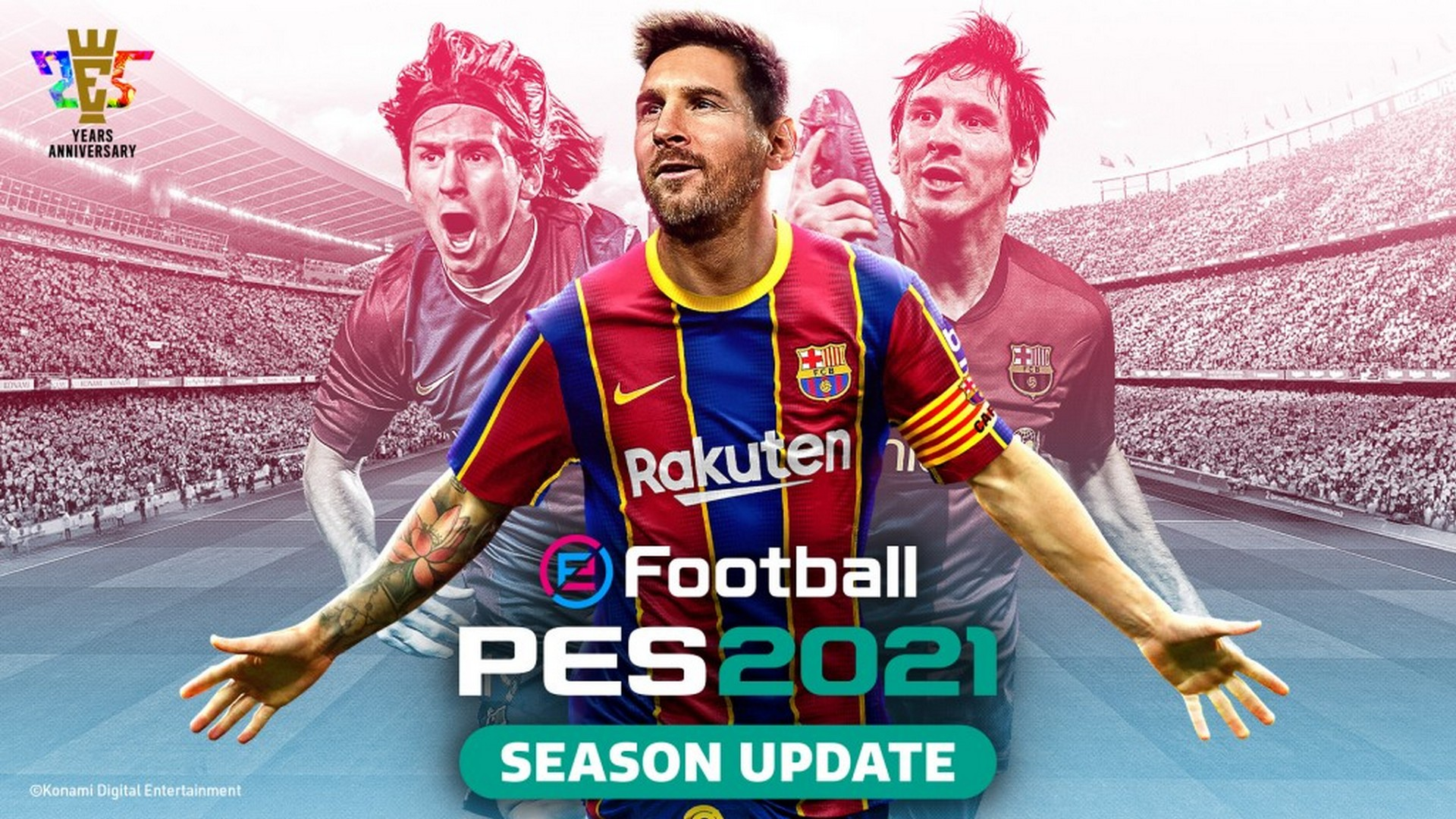 eFootball PES 2021 Season Update Data Pack 2.0 Is Now Available