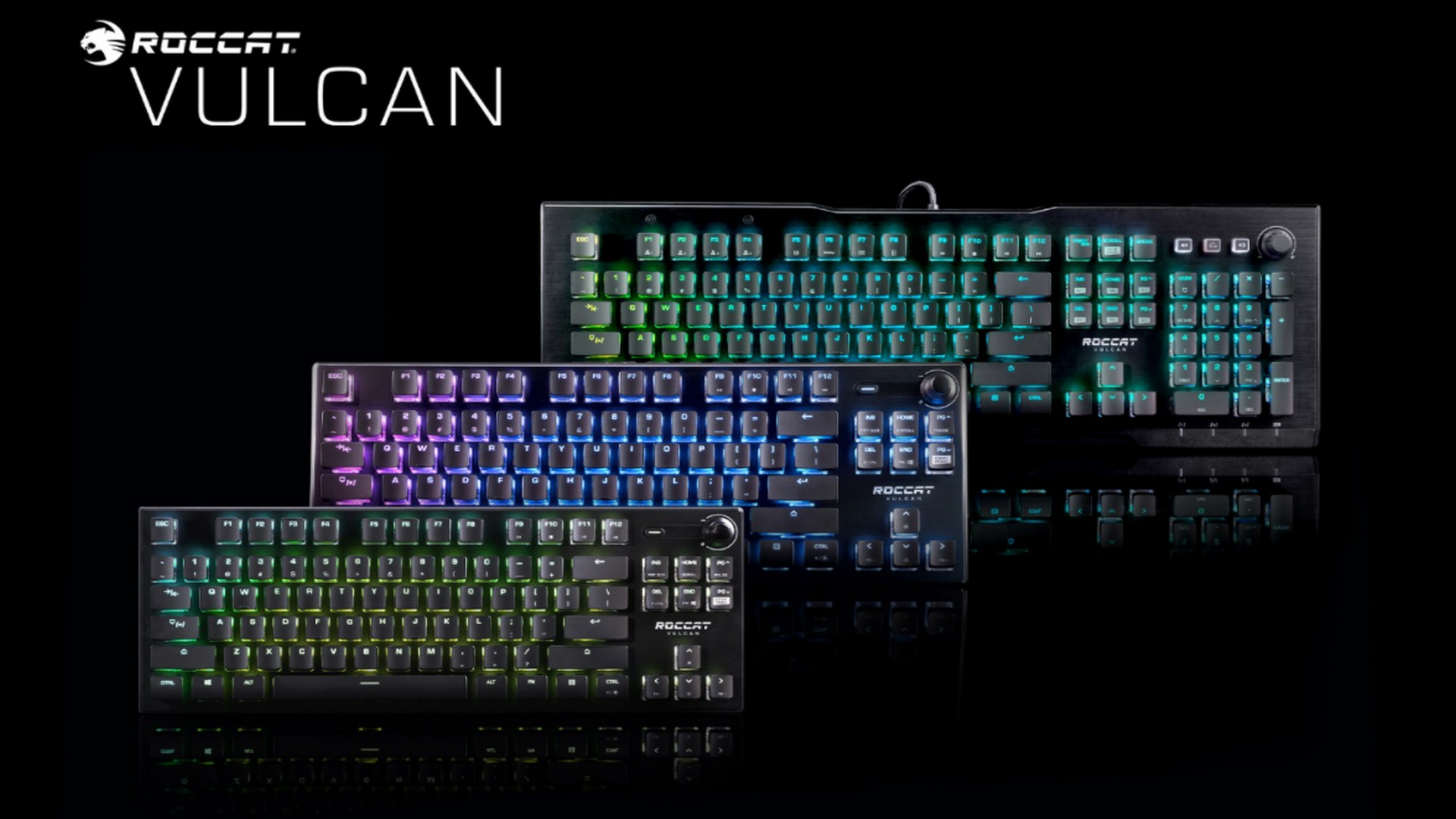 Roccat Debuts New Variants Of Its Award-Winning Vulcan Series PC Gaming Keyboards