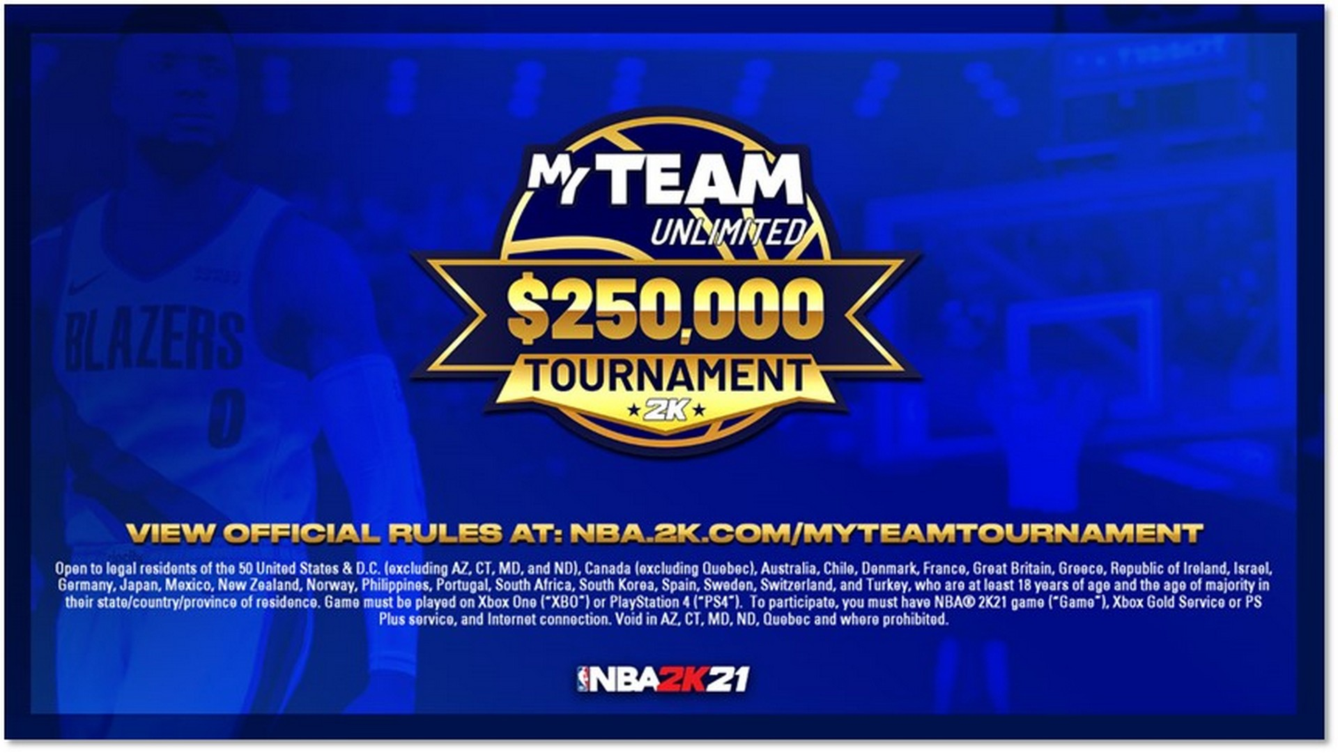Get Ready To Compete In The NBA 2K21 MyTEAM Unlimited $250,000 USD Tournament