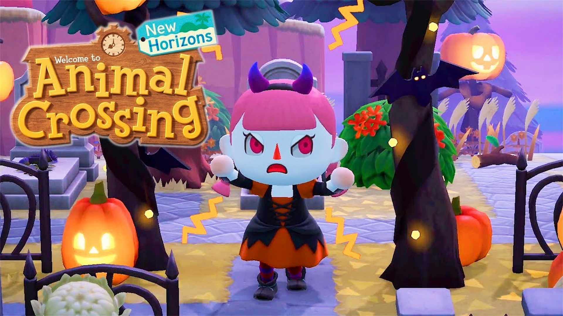 Animal Crossing: New Horizons Delivers Pumpkins, Costumes And A Halloween Event