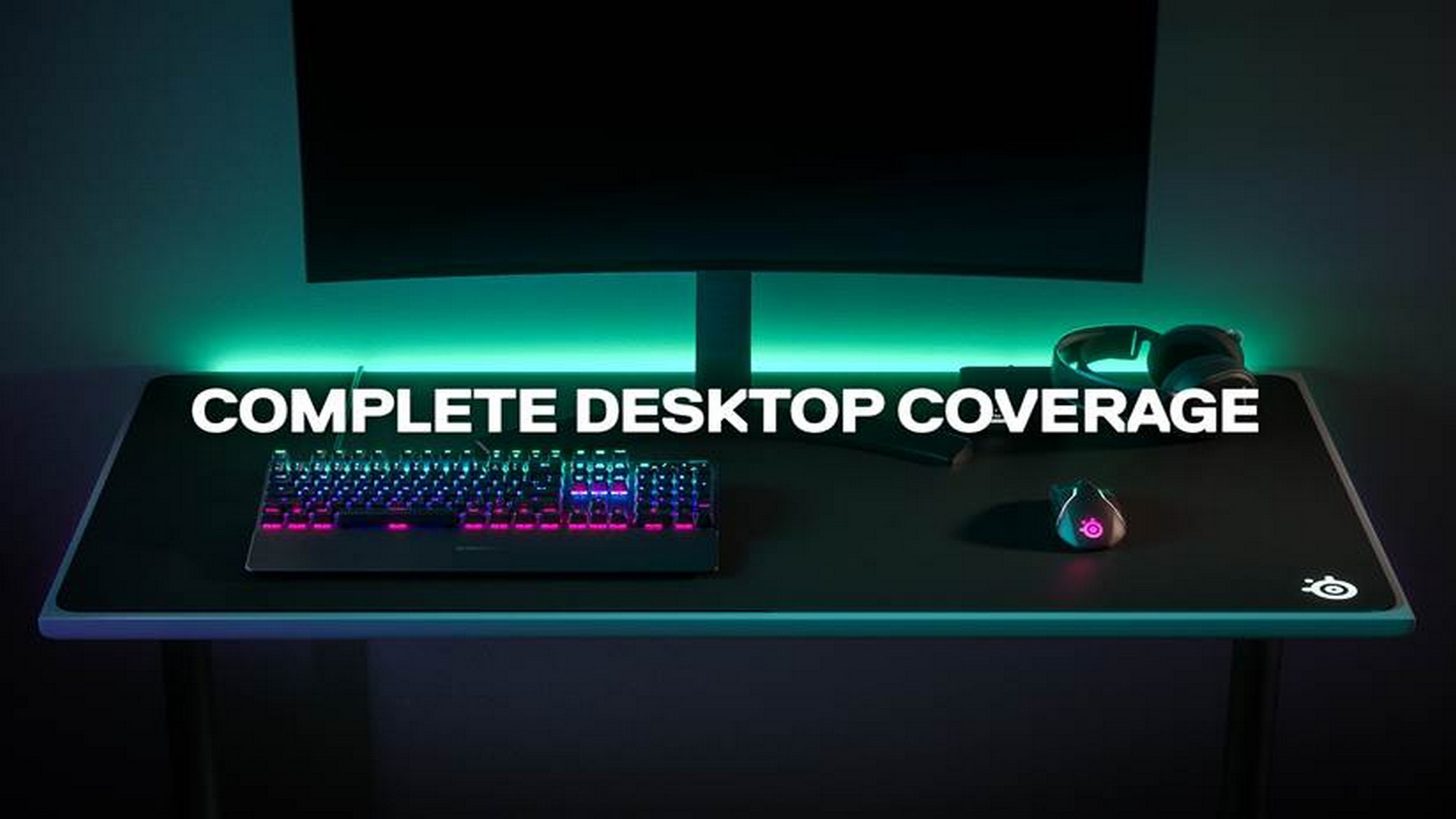 SteelSeries Launches New Desktop-Sized QcK Mousepads