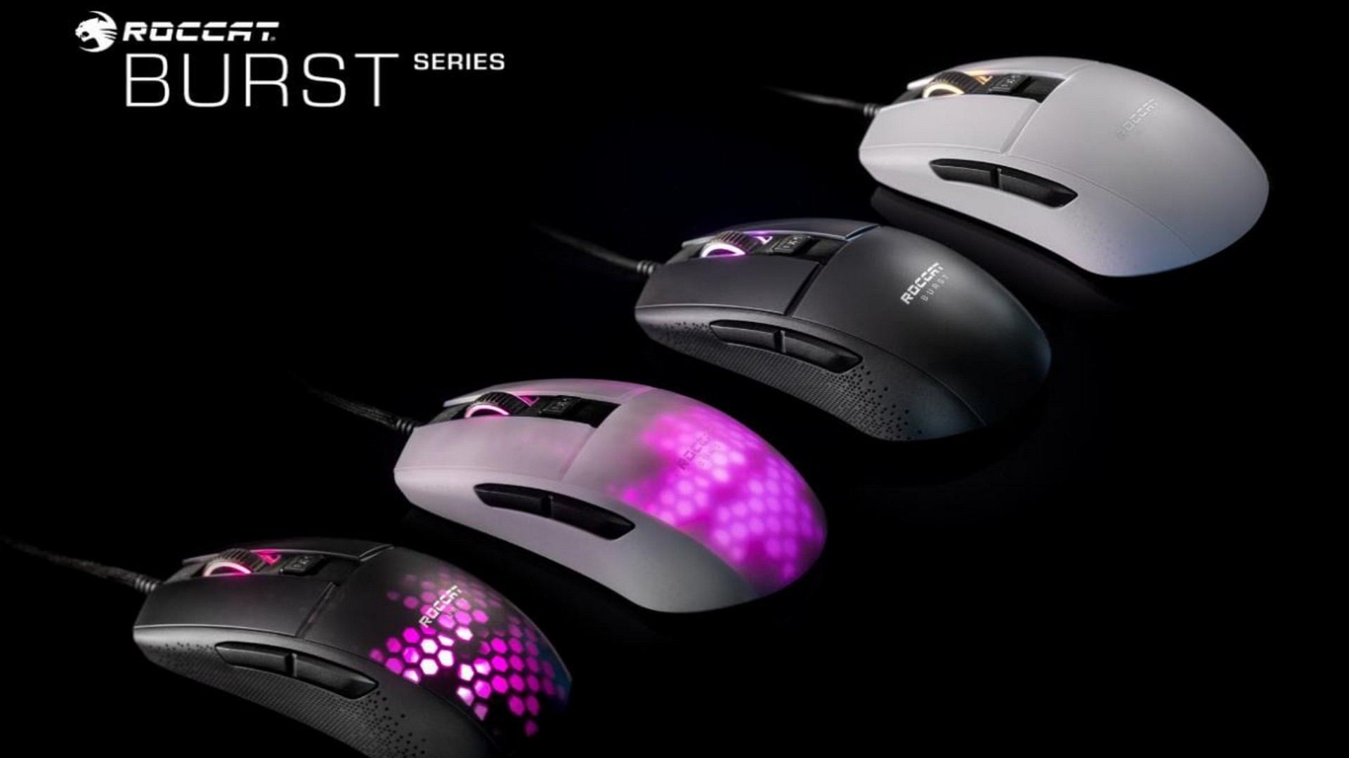 Roccat Reveals The All-New Burst Pro PC Gaming Mouse