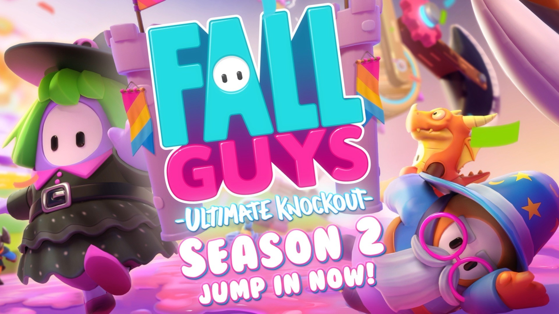 Fall Guys Season 2 Gets Medieval On The Masses Today