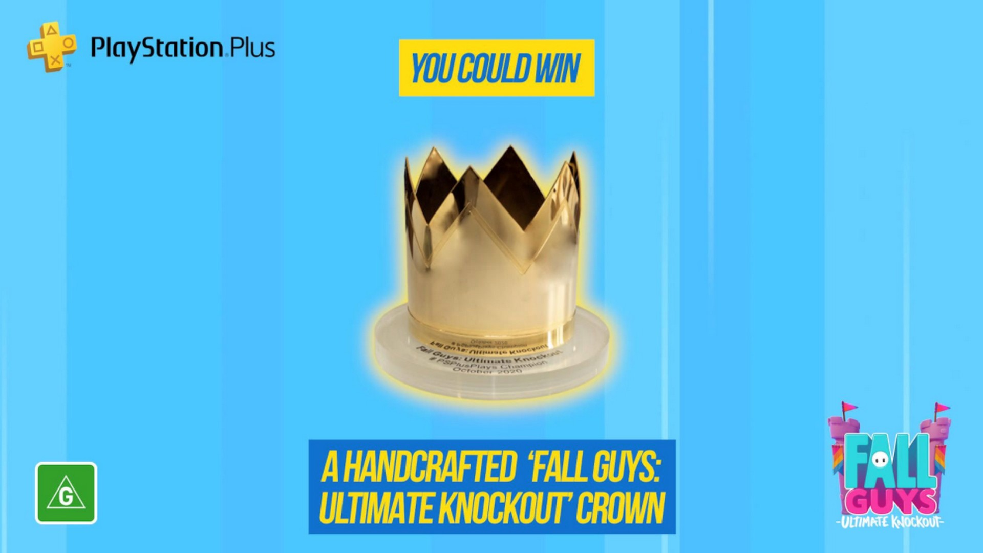 PlayStation Australia Announces #PSPlusPlays Challenge For October With Fall Guys: Ultimate Knockout