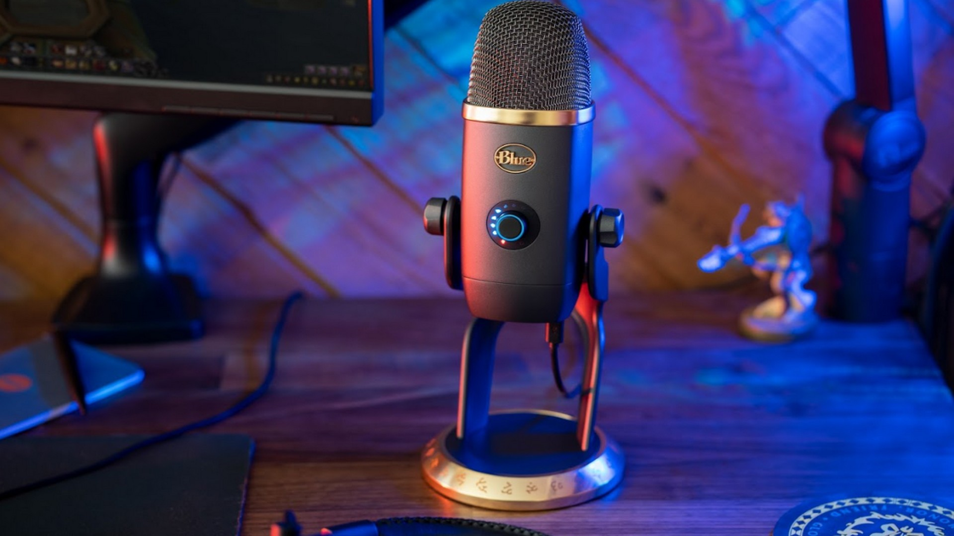 In Collaboration With Blizzard Entertainment, Blue Microphones Introduces Yeti X World of Warcraft Edition With Voice Modulation Effect & HD Samples