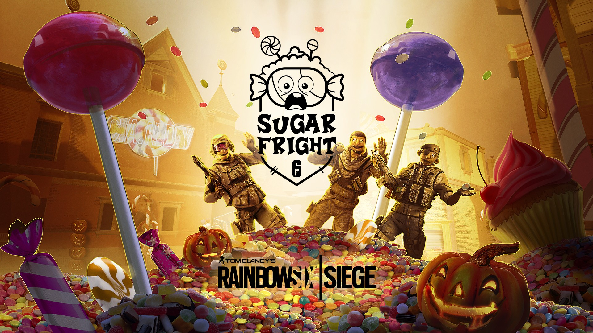 Rainbow Six Siege Announces Limited Time Halloween Event: Sugar Fright