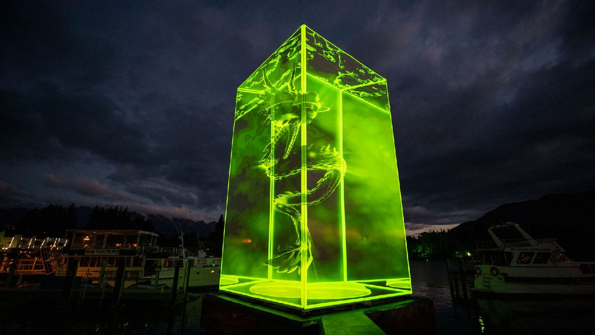 Xbox ANZ Transforms Queenstown Into 'Greenstown'