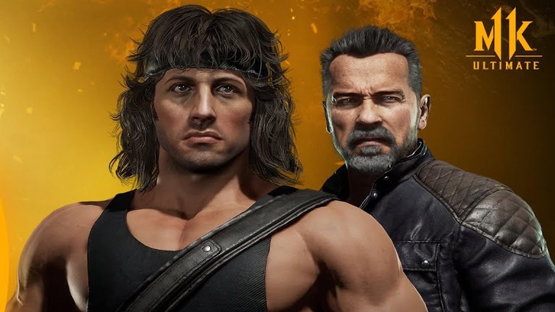 New Mortal Kombat 11 Ultimate Trailers Debut Marquee Matchup – Rambo vs. Terminator