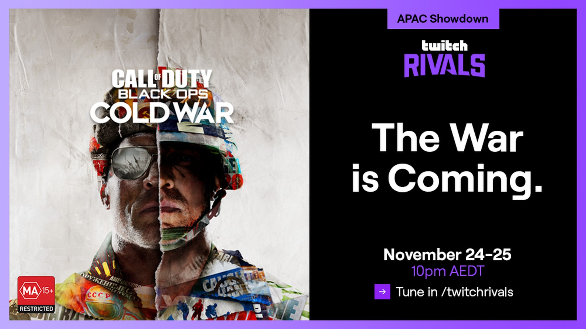 ANZ Streamers To Represent In The Latest Twitch Rivals: APAC Showdown, Feat. Call of Duty Black Ops Cold War