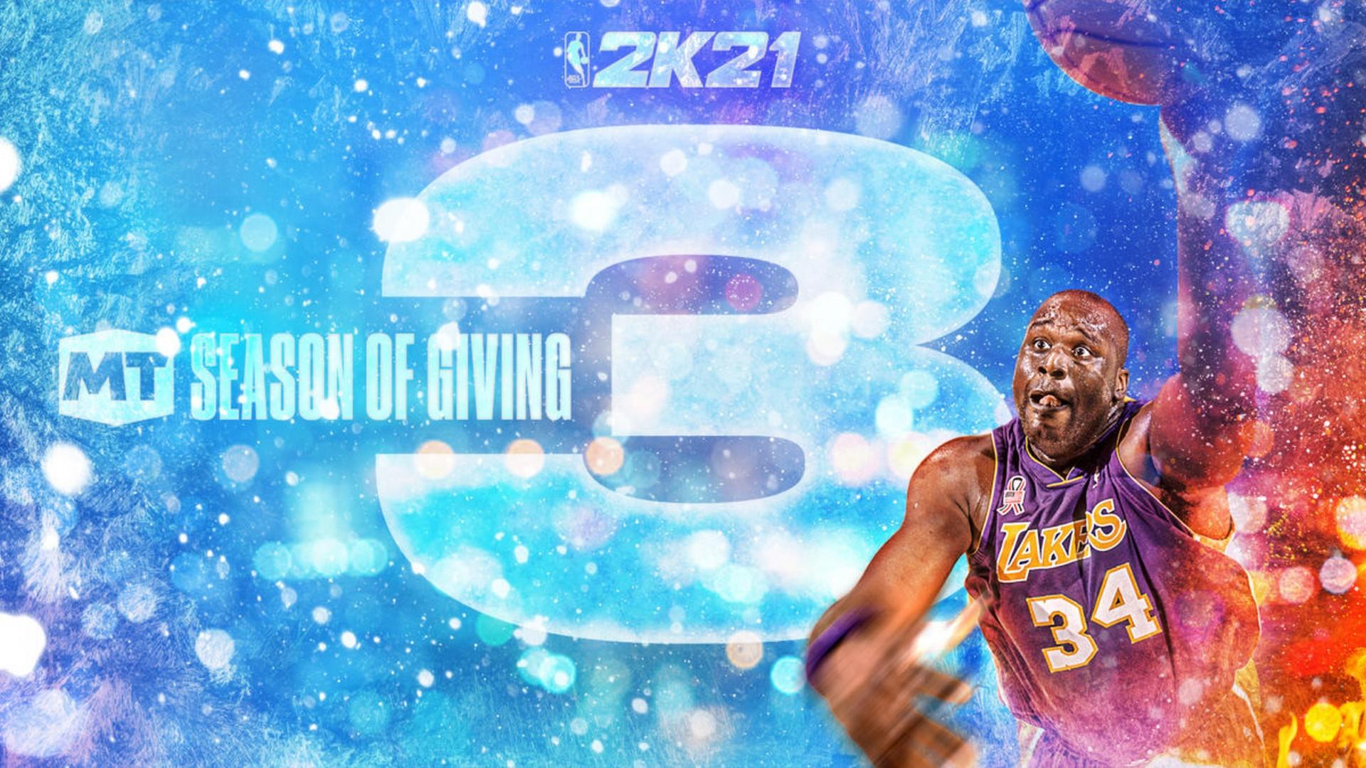 Season Of Giving: NBA 2K21 MyTEAM Season 3 Launches Today