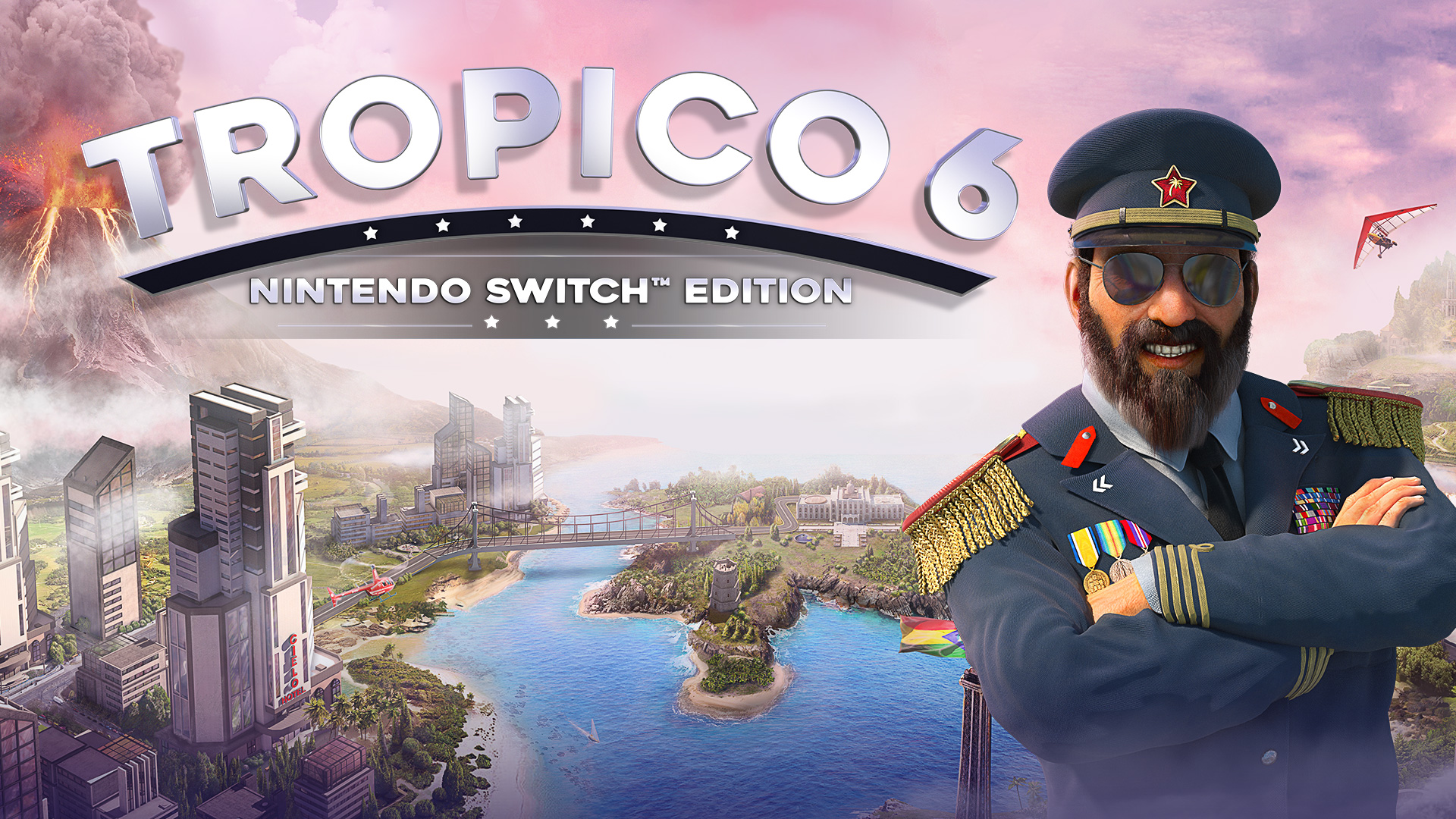 Tropico 6 – Nintendo Switch Edition: Declassified & Available Now