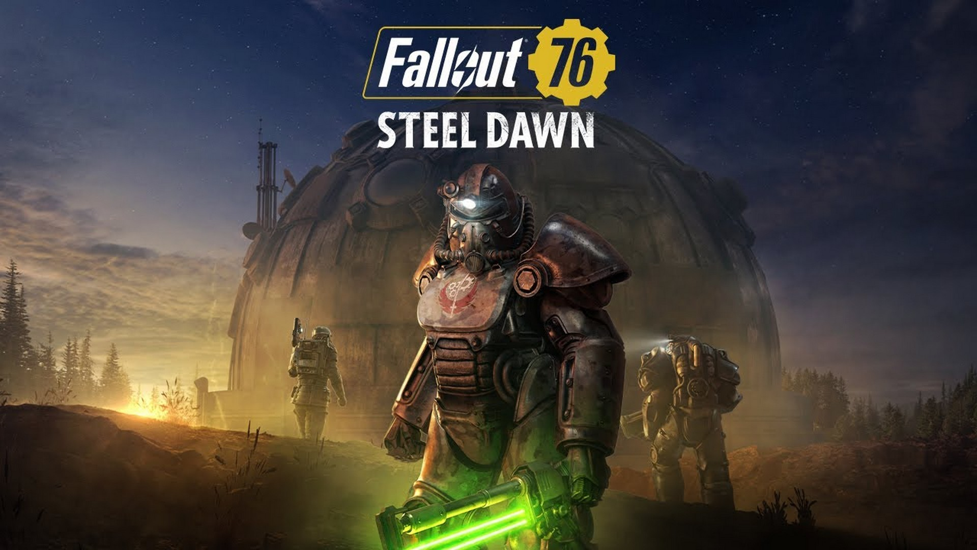 "Fallout 76 – Steel Dawn – ""Fractured Steel"" Reveal Trailer"
