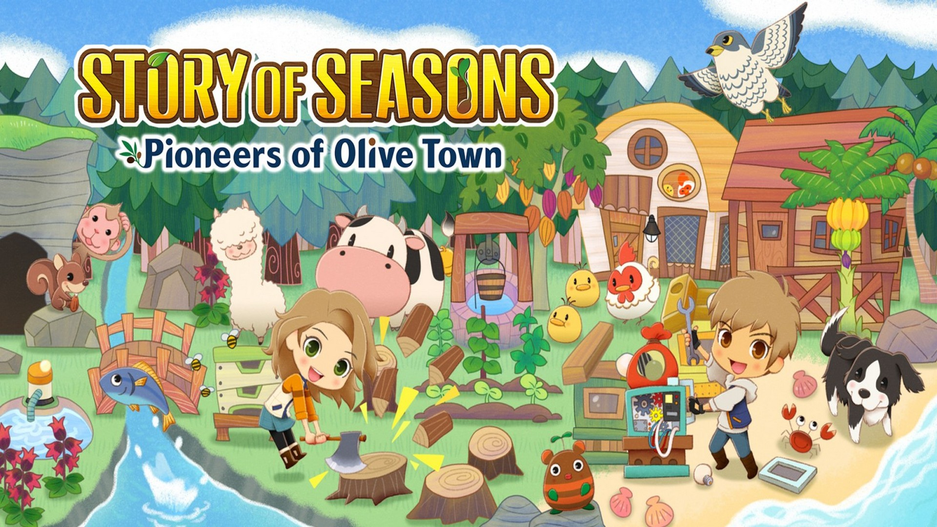 Begin Your Pioneering Adventure Today With Story Of Seasons: Pioneers Of Olive Town On Nintendo Switch