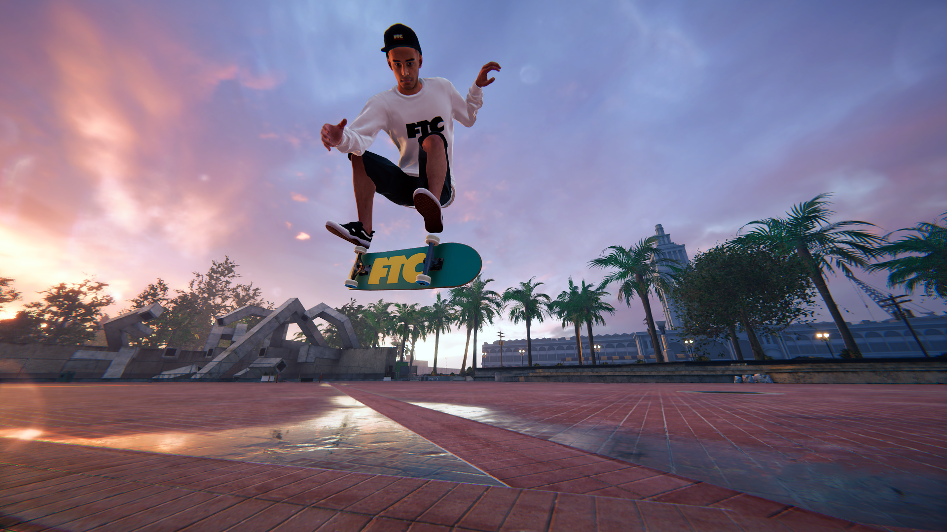 Iconic Embarcadero Plaza Official Map Available Now In Skater XL