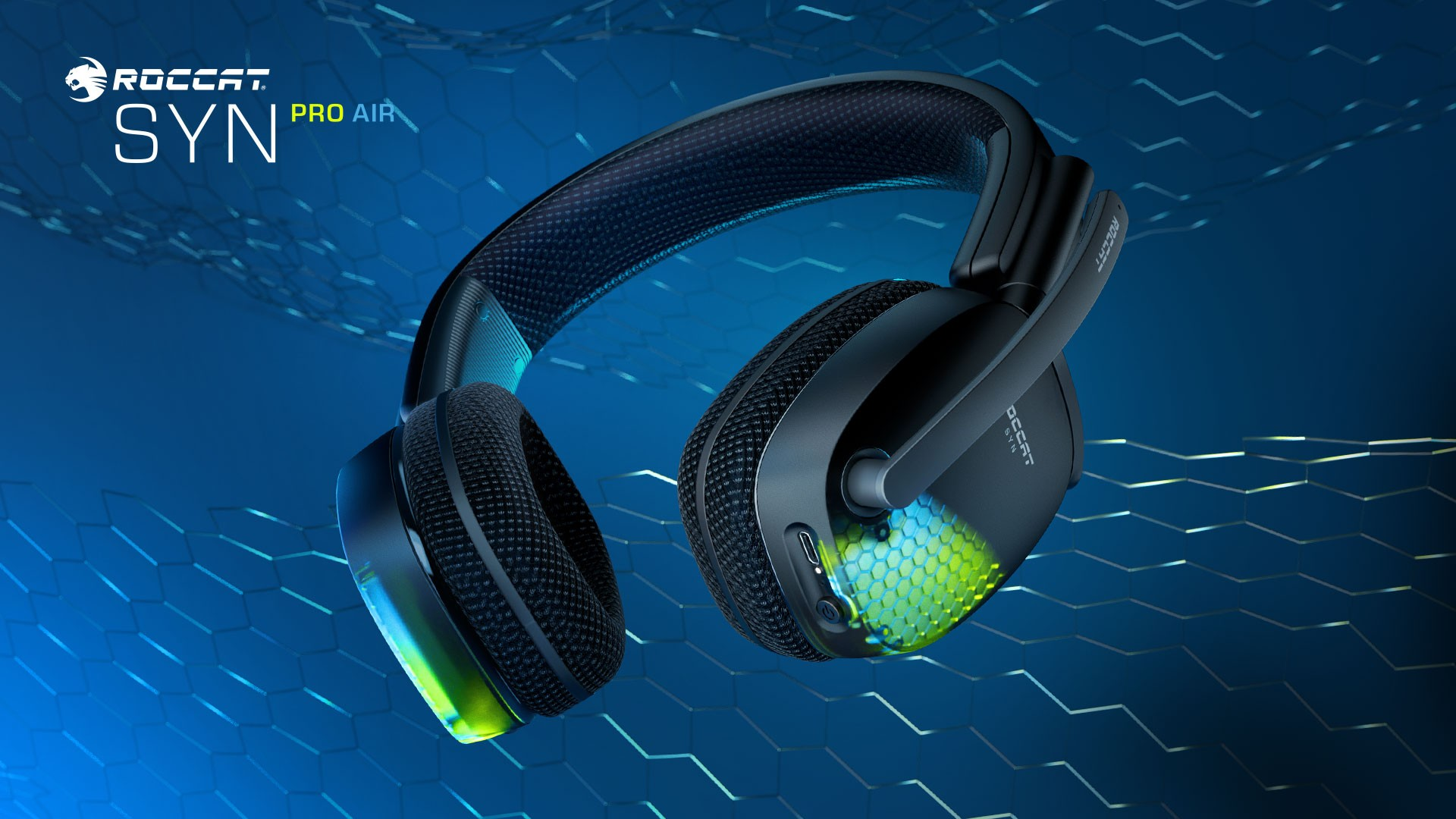 Roccat Expands PC Gaming Headset Lineup With The All-New, Premium Wireless SYN PRO AIR