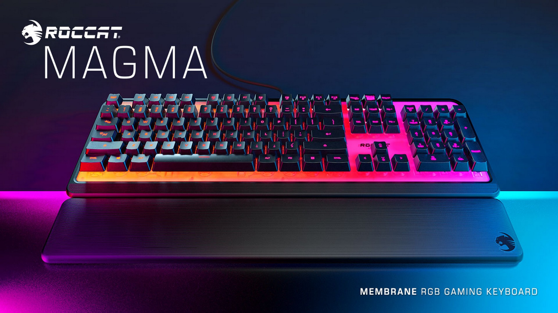 ROCCAT'S Vibrant Magma Membrane Keyboard Now Available Exclusively At JB HI-FI