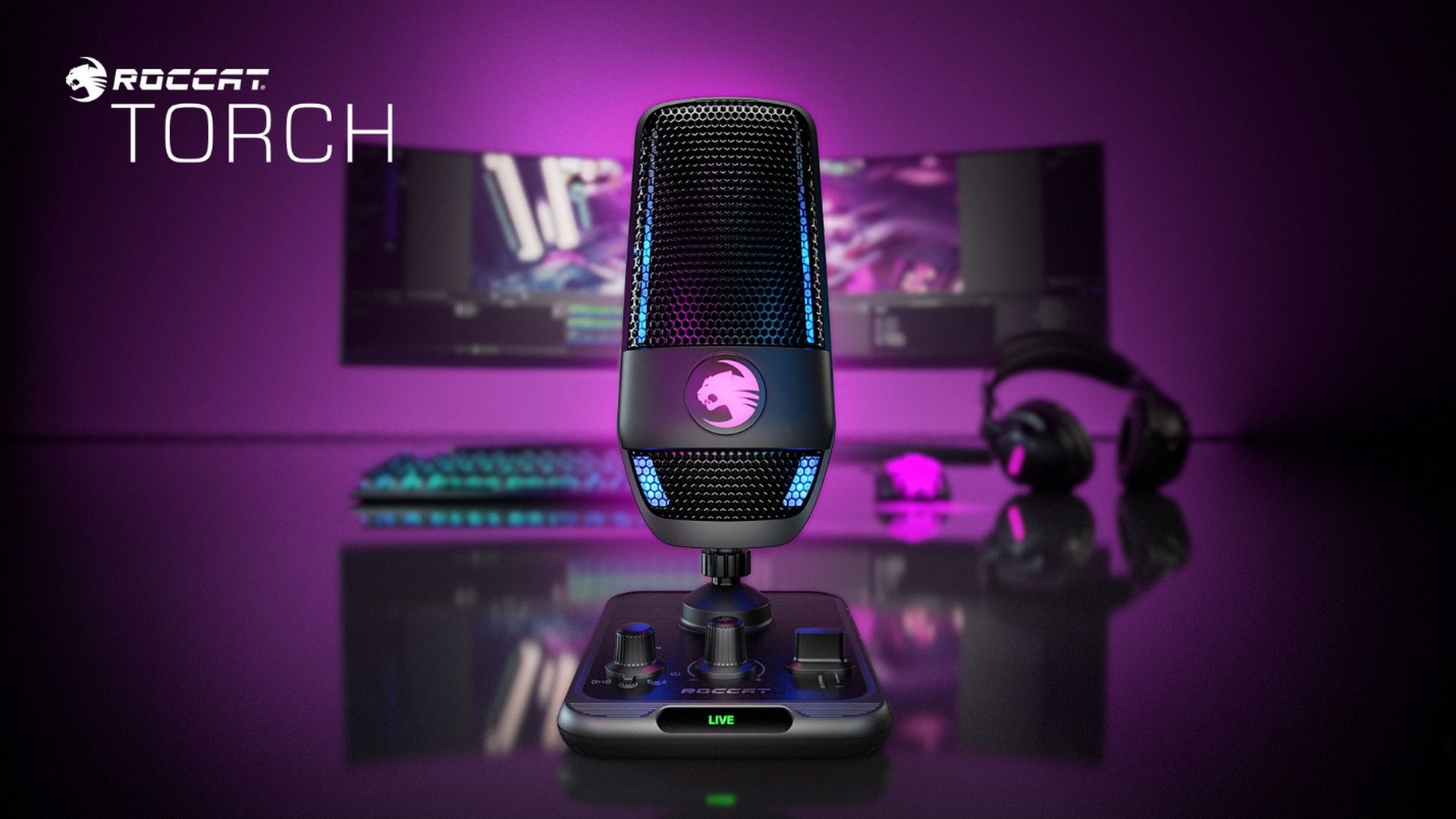 ROCCAT Reveals The Torch Microphone – Studio-Quality Sound For Gamers, Streamers & Aspiring Creators