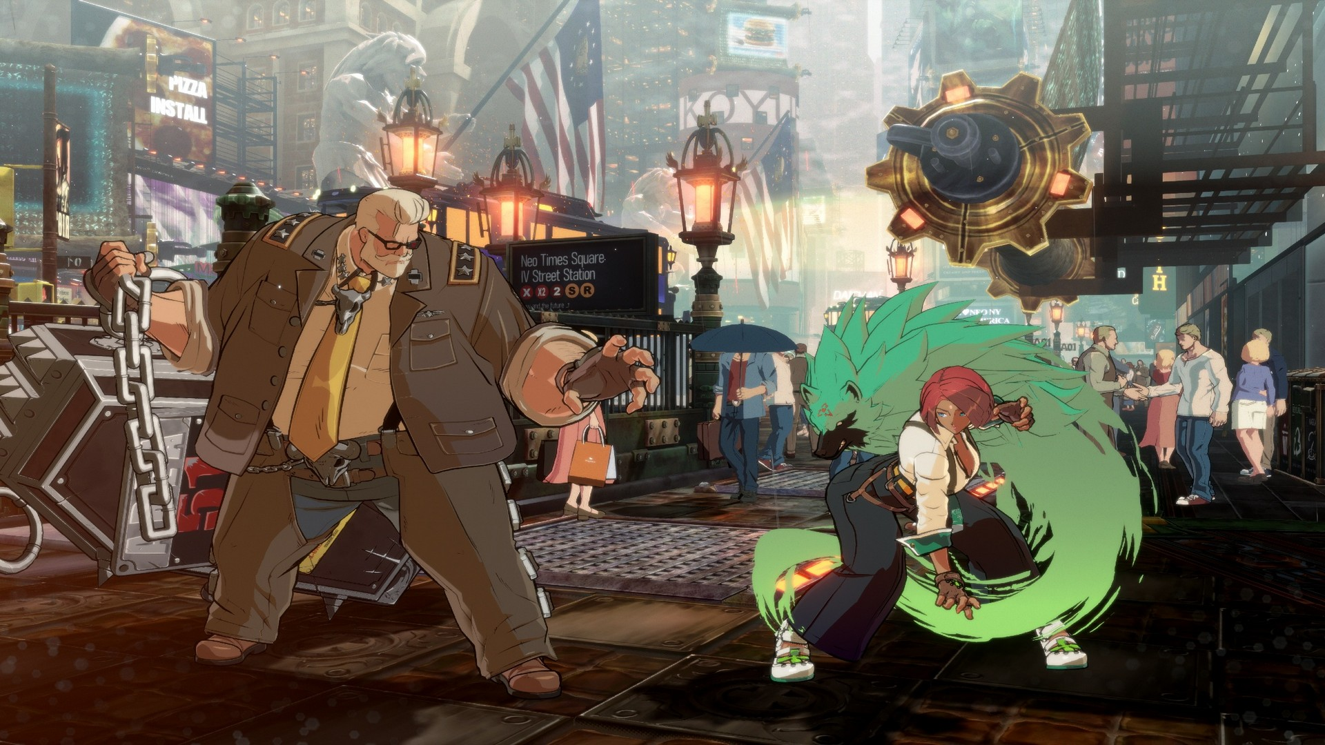 Goldlewis Dickinson Is The First Season Pass Character To Join Guilty Gear -Strive- Roster