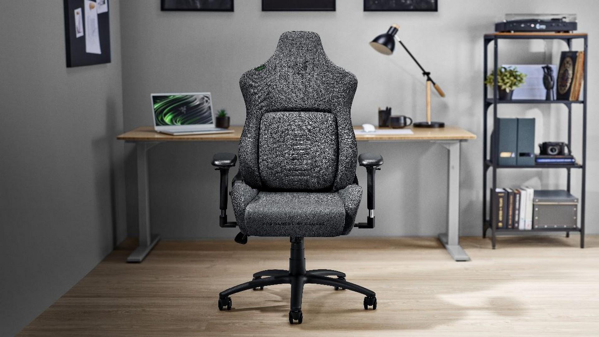 Razer Introduces New Fabric Ergonomic Gaming Chairs To The Razer Iskur Family